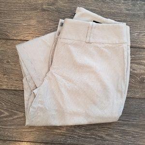Loft Cropped Dress Pant